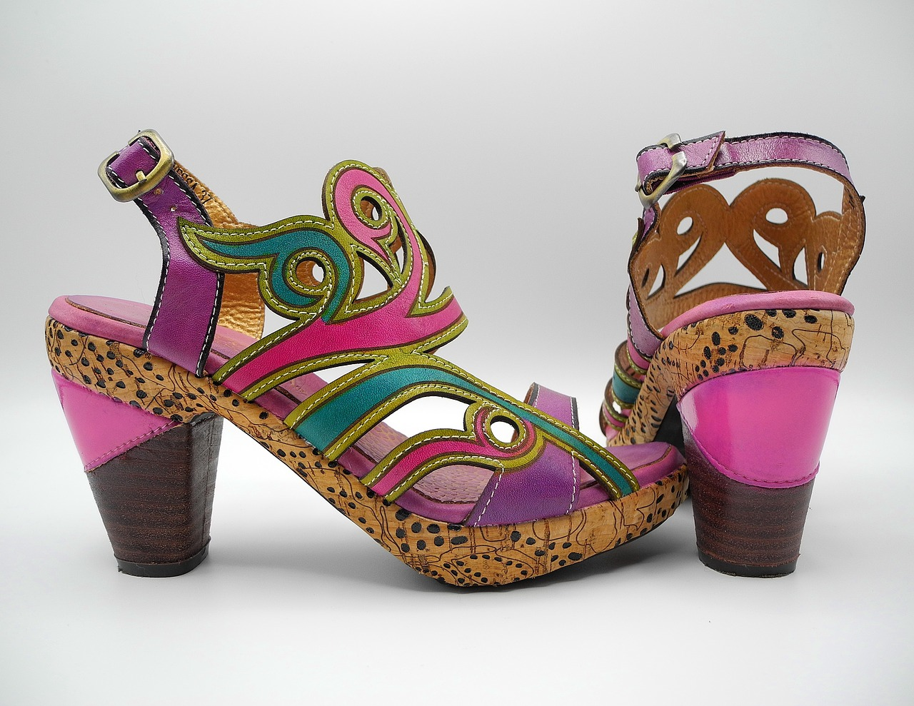 Sandalias Americana de materiales